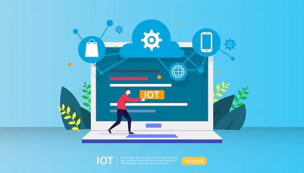 Koncepcja inteligentnego monitoringu domu iot