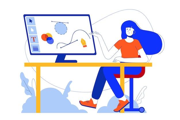 Koncepcja internetowa studia projektowego