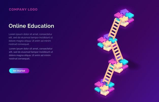 Koncepcja izometryczna edukacji lub szkolenia online