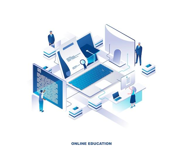 Koncepcja izometryczna edukacji online