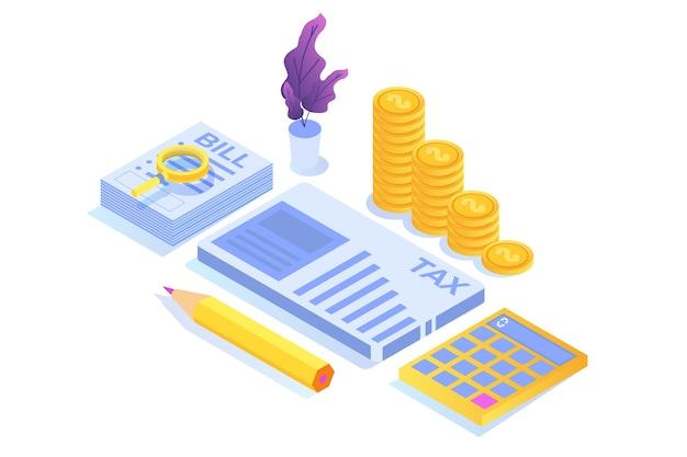 Koncepcja izometryczna płacenia podatku online