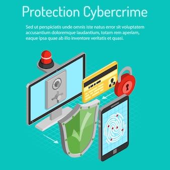 Koncepcja izometryczny ochrony cyberprzestępczości