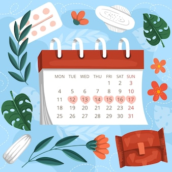 Koncepcja kalendarza miesiączkowego