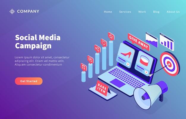 Koncepcja kampanii e-commerce w mediach społecznościowych