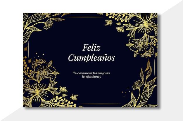 Koncepcja karty z okazji urodzin