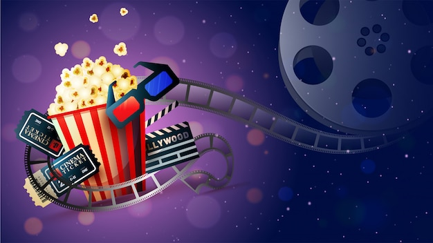 Koncepcja kina kinowego.