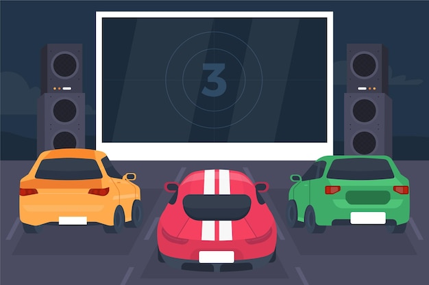 Koncepcja kina samochodowego