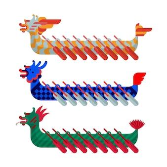 Koncepcja kolekcji dragon boat