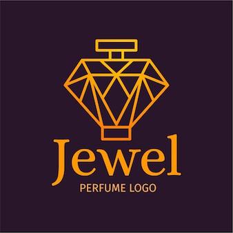 Koncepcja kolekcji logo luksusowych perfum