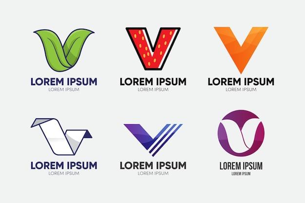 Koncepcja kolekcji logo v.
