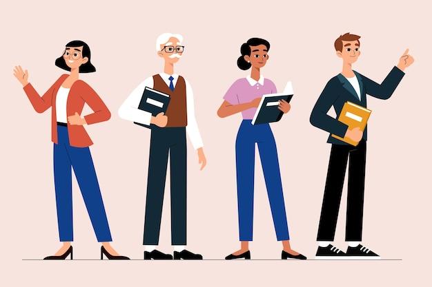 Koncepcja kolekcji nauczycieli