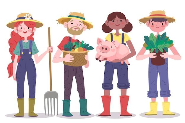 Koncepcja kolekcji rolnika