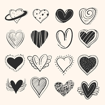Koncepcja kolekcji rysowane serca