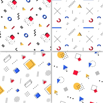 Koncepcja kolekcji wzór memphis