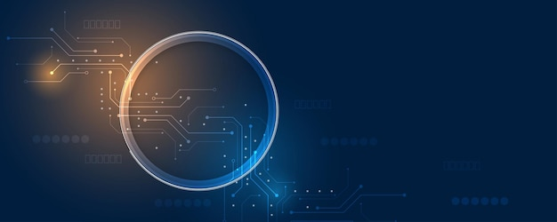 Koncepcja komunikacji innowacja tło nauka i technologia cyfrowa linia niebieskie tło