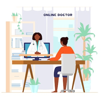 Koncepcja konsultacji lekarza online