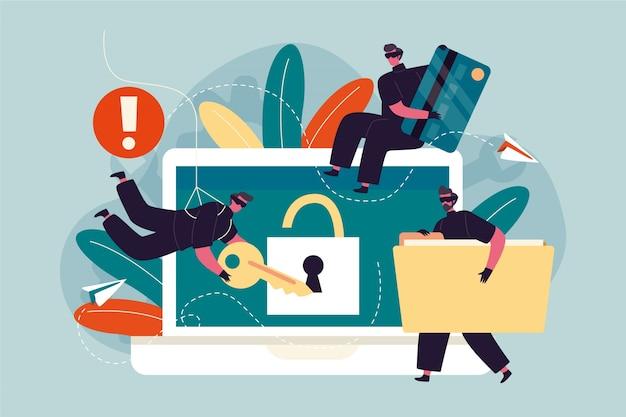 Koncepcja kradzieży danych