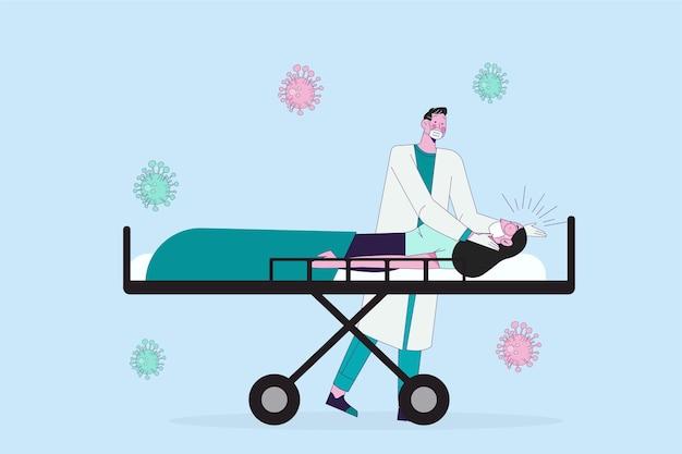 Koncepcja krytycznego pacjenta koronawirusa