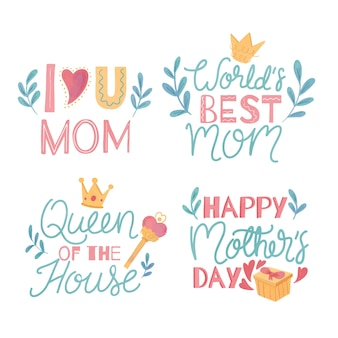 Koncepcja kwiatowy dzień matki