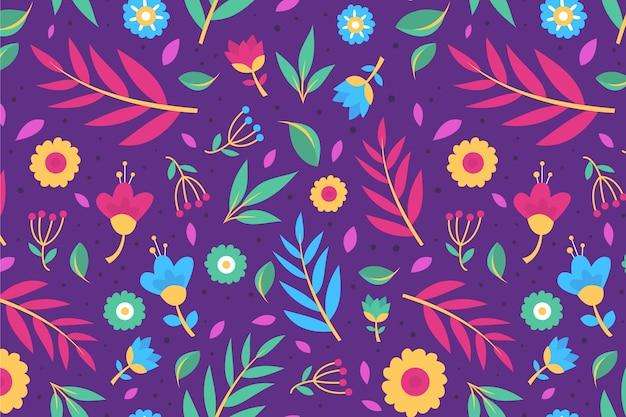 Koncepcja kwiatowy wzór