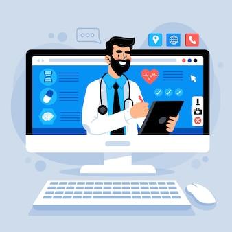 Koncepcja lekarza online