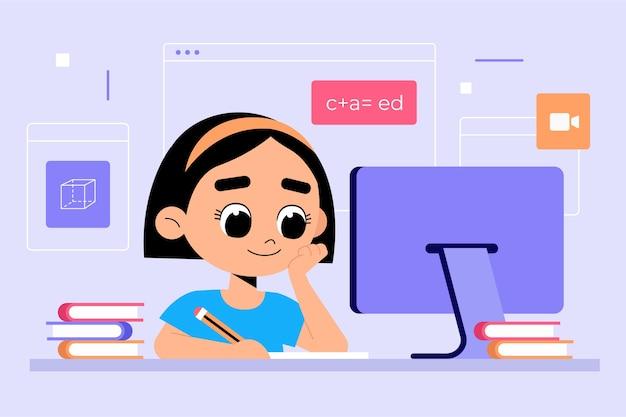 Koncepcja lekcji online dla dzieci