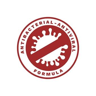 Koncepcja logo antybakteryjne