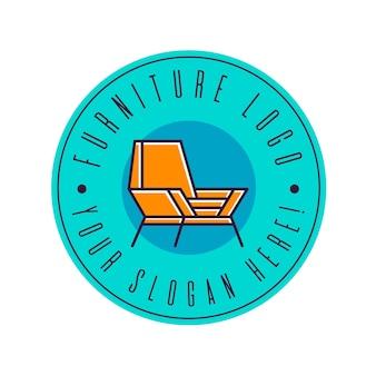 Koncepcja logo meble