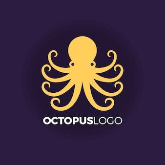 Koncepcja logo ośmiornicy