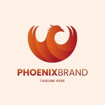 Koncepcja logo phoenix