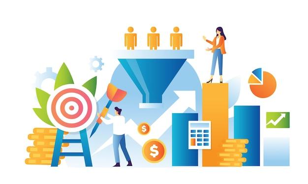 Koncepcja marketingu lejka sprzedaży