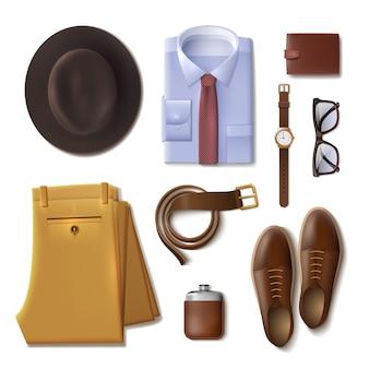 Koncepcja męskiej odzieży