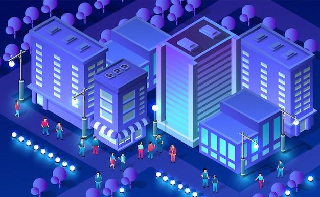 Koncepcja miasta ultra izometryczny