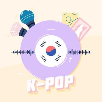 Koncepcja muzyki k-pop