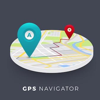 Koncepcja nawigatora lokalizacji