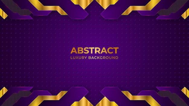 Koncepcja nowoczesnej tapety streszczenie luksusowe fioletowe tło