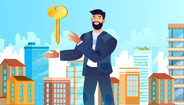 Koncepcja obsługi nieruchomości z pośrednikiem w handlu nieruchomościami