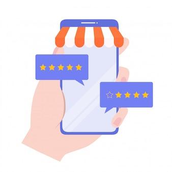 Koncepcja oceny klientów.