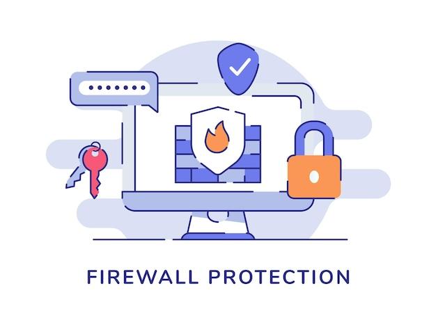 Koncepcja ochrony firewall
