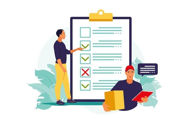 Koncepcja odprawy celnej. zamówienie umowy o świadczenie usług wysyłkowych na całym świecie.