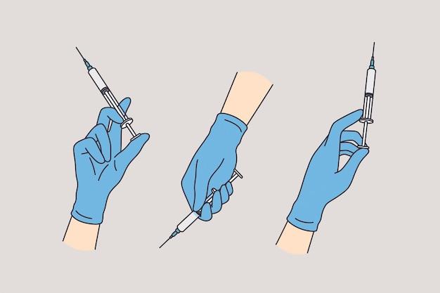 Koncepcja opieki zdrowotnej i medycyny.