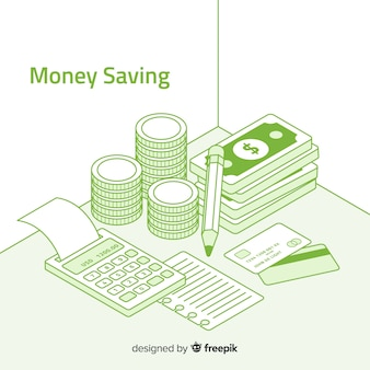 Koncepcja oszczędzania pieniędzy