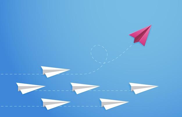 Koncepcja papierowego samolotu