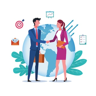 Koncepcja partnerstwa międzynarodowego i globalnej współpracy