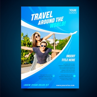 Koncepcja plakatu podróży