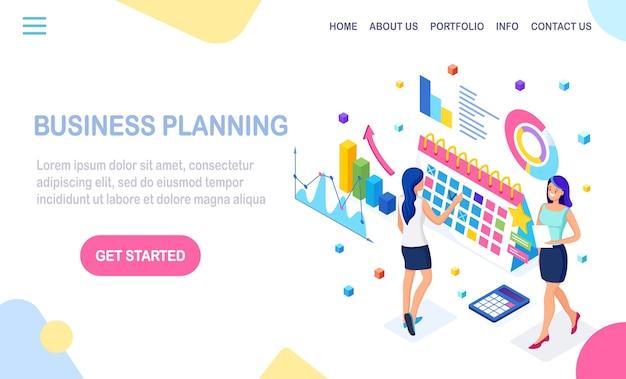 Koncepcja planowania biznesowego.