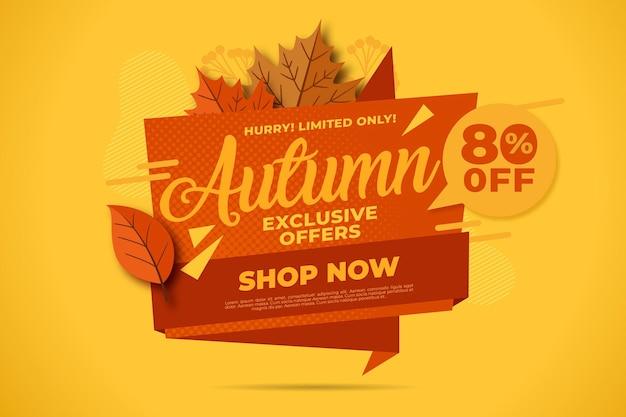 Koncepcja płaskiej sprzedaży jesień