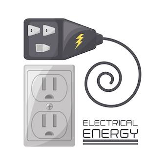 Koncepcja płaskiej złączki i wtyczki energetycznej