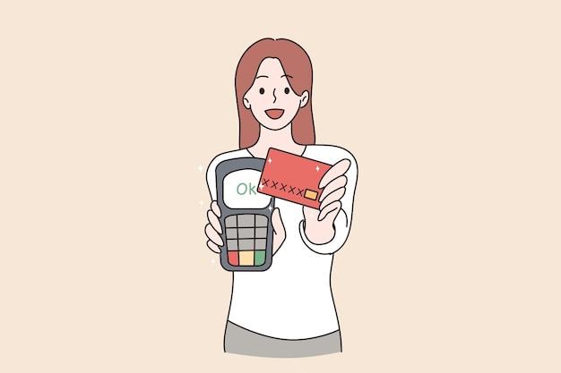 Koncepcja płatności elektronicznych i technologii