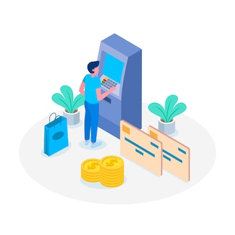 Koncepcja płatności kartą kredytową strona docelowa